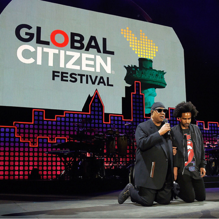 Stevie Wonder @ Global Citizen Festival