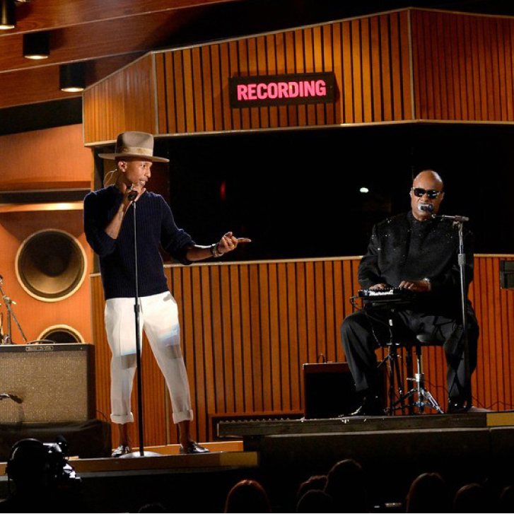 Stevie Wonder + Daft Punk @ Grammy Awards